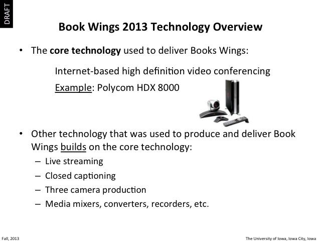 2013 Book Wings Technology, slide 2