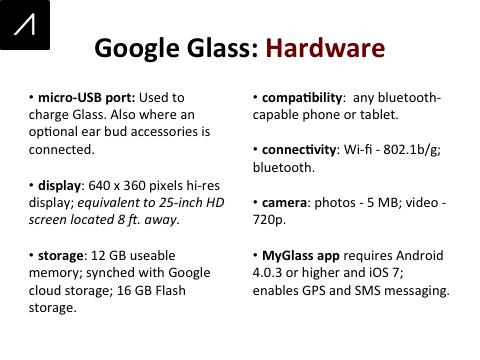 Google Glass Slide 6