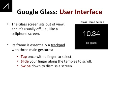 Google Glass Slide 11