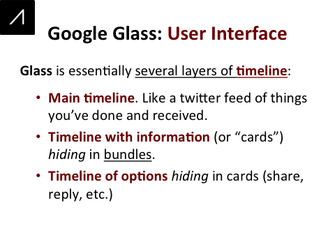 Google Glass Slide 13