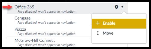 How Do I Link OneDrive To My Course Navigation Menu?