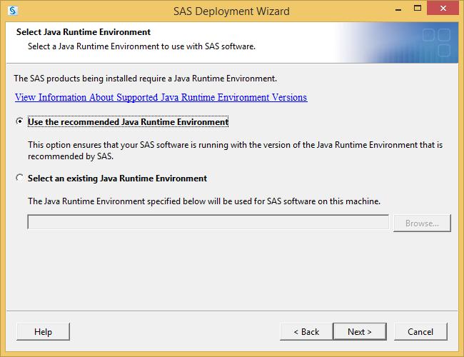 SAS 9.3 Java