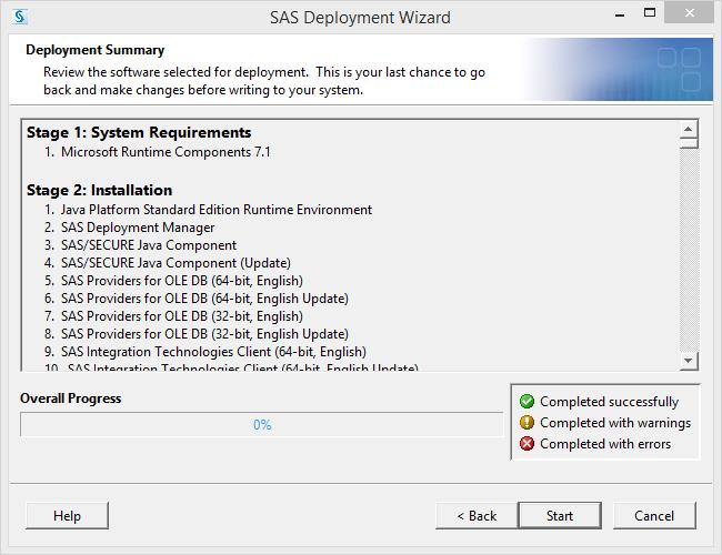 SAS 9.3 Ready to Install
