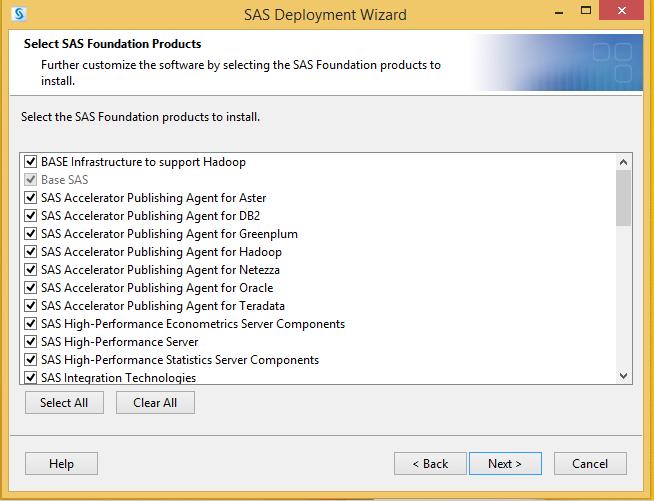 SAS 9.4 Foundation Products