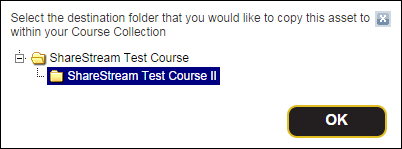 Example - Select Destination Folder