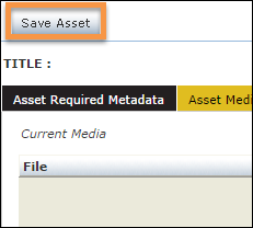 Highlighted - Save Asset