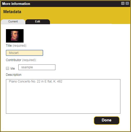 Example - Edit Tab