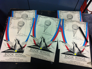 Book Wings Program Covers