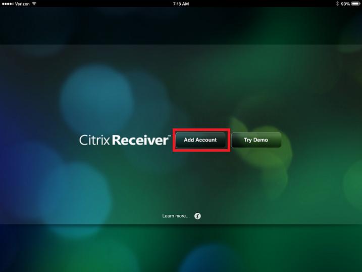 Citrix App Ipad