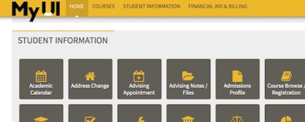 My UI Homepage