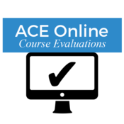 ACE Online Course Evaluations