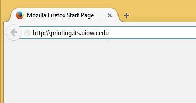To Print A Document From Your Own Computer First Open Web Browser And Go Printingitsuiowaedu Log In With HawkID Password