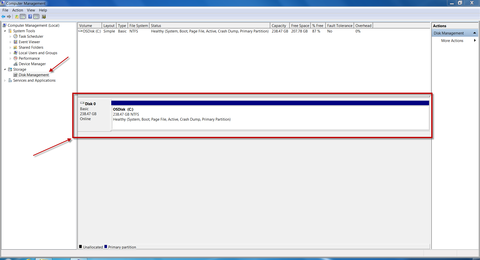 How to prepare a single partition drive for BitLocker (MBAM