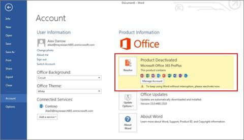 Troubleshooting Office 365 ProPlus | Information Technology