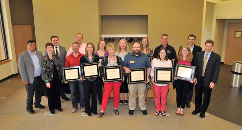 Learning Commons team receives IOWA Award