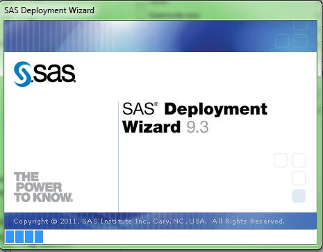 SAS Deployment Wizard Version 9.3