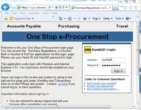 eBuy Login. One Stop e-Procurement.
