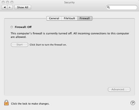 mac firewall