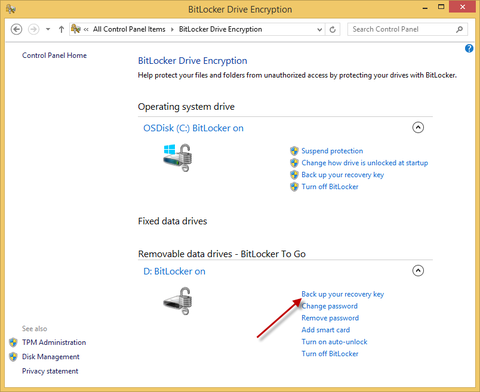 How to enable BitLocker on Removable Drives (BitLocker To Go