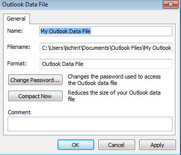 how to open outlook data file in outlook 2010