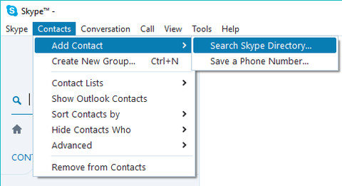Communicating with Skype (for Consumer) Users | Information
