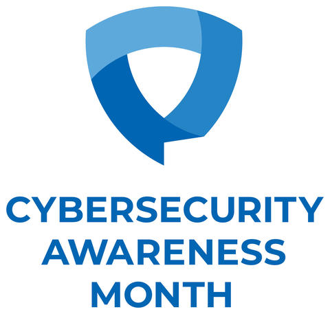Cybersecurity Awareness Month logo
