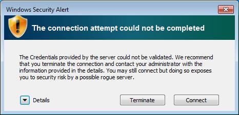 Windows 7 Certificate Dialog