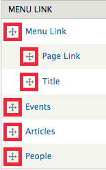 The four-arrow symbols next to each link