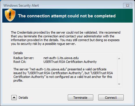 Windows 7 Certificate Details