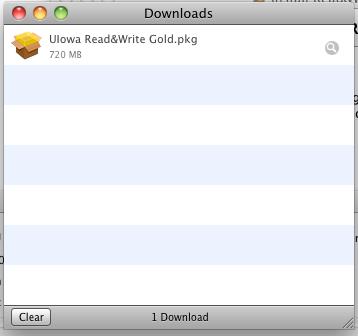 Downloads - UIowa Read&Write Gold.pkg