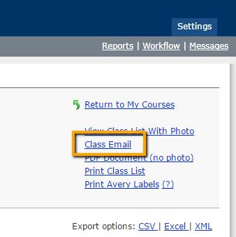 MAUI class email link