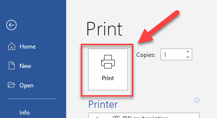 Print your document