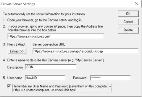Configuring Server Settings