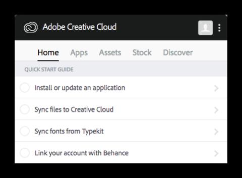 Adobe CC Desktop App