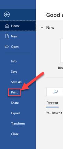 Select Print