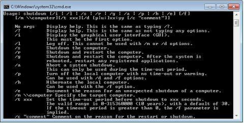 How do I shut down or restart my Windows computer via