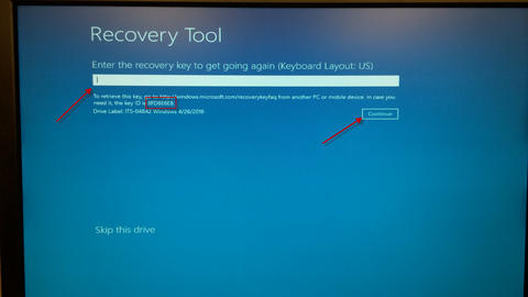 how to recover data from an encrypted hard drive?