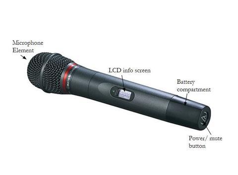handheld mic parts