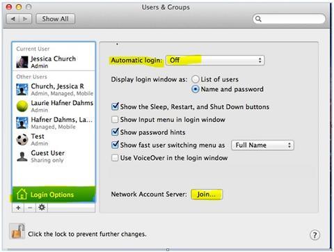 add computer to domain mac