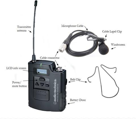 mic pack parts