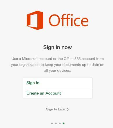 Office 365 Sign In Now Page.