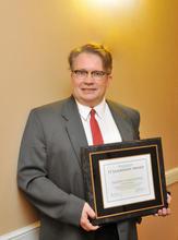 Guy Falsetti and Award