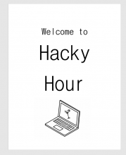 Hacky Hour promotional image