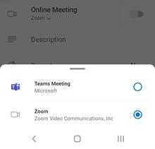 Android Online Meeting