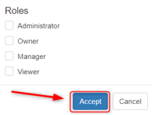 Roles Accept