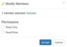 Modify Members