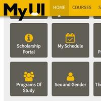MyUI portal screen shot - gender inclusive records