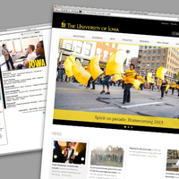 the university of iowa homepage/webpage