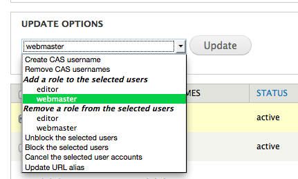 user account update options