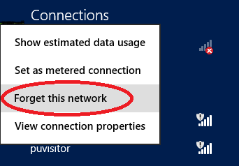 red circle around forget this network